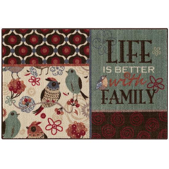Life is Better Rectangular Rug
