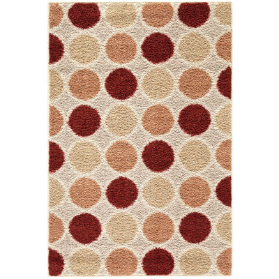 Curbello Geometric Rectangular Rug - 30X46""