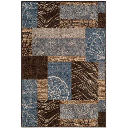 Ocean Collage Rectangular Rug
