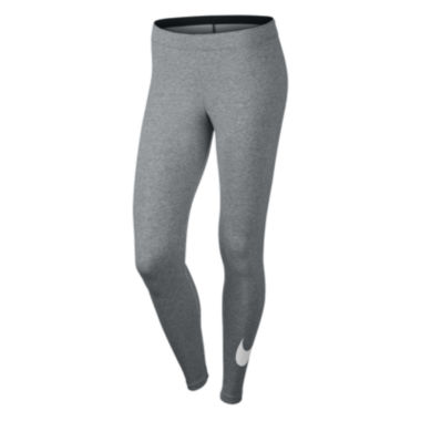 Nike® Club Mid-Rise Swoosh Leggings