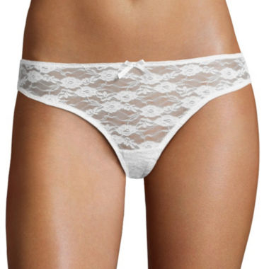 City Streets Lace Thong Panty