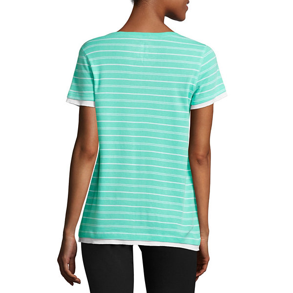 Made for Life™ Short-Sleeve Layered T-Shirt