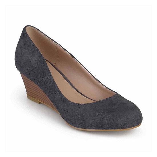 Journee Collection Womens Telora Slip-On Shoe Round Toe