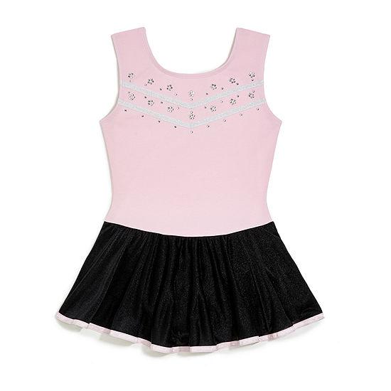 Jacques Moret Sleeveless Dance Dress - Big Kid