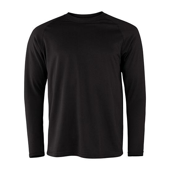Military Fleece Crew Neck Long Sleeve Thermal Shirt