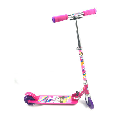 Titan Flower Princess Girls Alloy Kickscooter