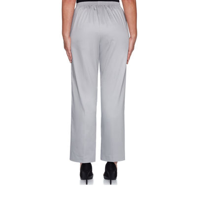 Alfred Dunner Charleston Relaxed Fit Woven Pull-On Pants