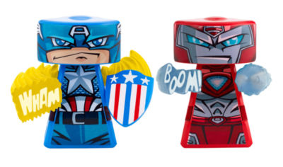 Versus Rip-Spin Warrior 2-Pack - Marvel Captain America & Iron Man 2