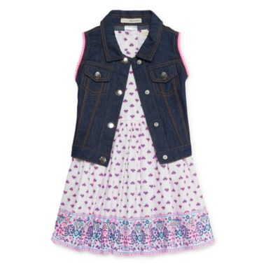 Self Esteem Jacket Dress Toddler Girls
