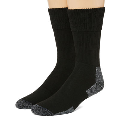Dr. Scholl's Advanced Relief 2 Pair Crew Socks-Mens