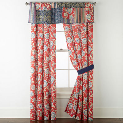 JCPenney Home Antibes Rod-Pocket Curtain Panel
