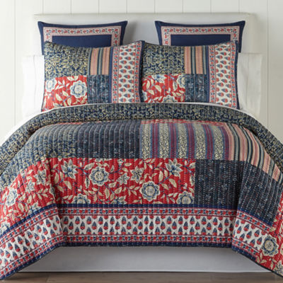 JCPenney Home Antibes Quilt & Accessories