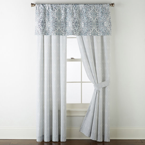 JCPenney Home Ajanta Rod-Pocket Curtain Panels