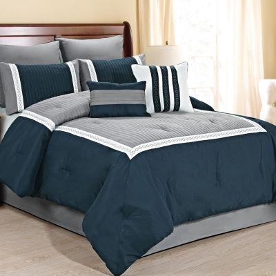 Fashion Street Giornali 8pc Comforter Set