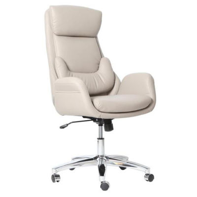 Techni Mobili Best Executive Ergonomic Home Office Chair with Lumbar Support