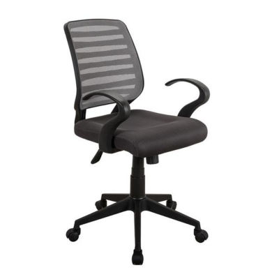 Techni Mobili Comfy Rolling Mesh Task Chair w Arms
