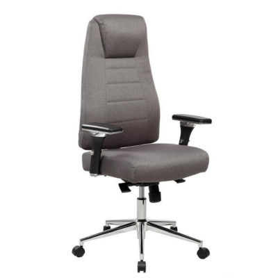 Techni Mobili Comfy Height Adjustable Executive Office Chair with Wheels