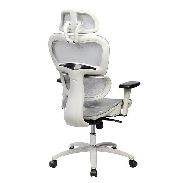 Techni Mobili Deluxe High Back Mesh Executive Office Chair with Neck Support