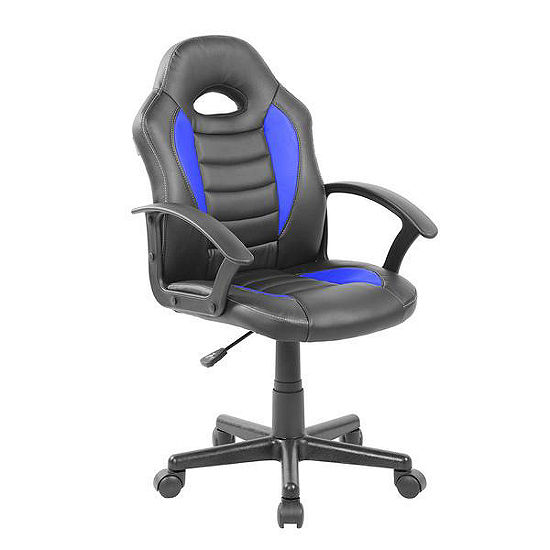 Techni Mobili Kid's Gaming and Student Racer Chair with Wheels