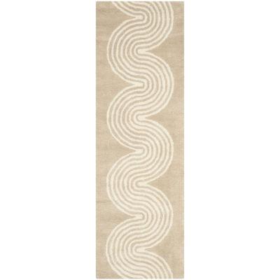 Safavieh Zachariah Geometric Hand Tufted Wool Rug
