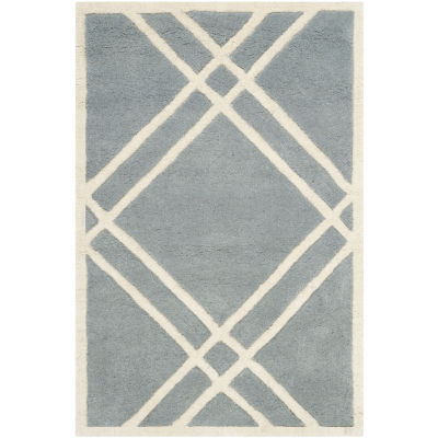 Safavieh Alannis Geometric Hand Tufted Wool Rug