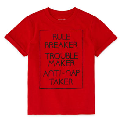 Okie Dokie Graphic Short Sleeve T-Shirt-Toddler Boys
