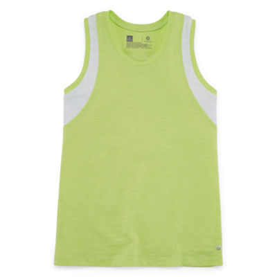 Xersion Blocked Graphic Tank Top - Girls' Sizes 4-16 and Plus