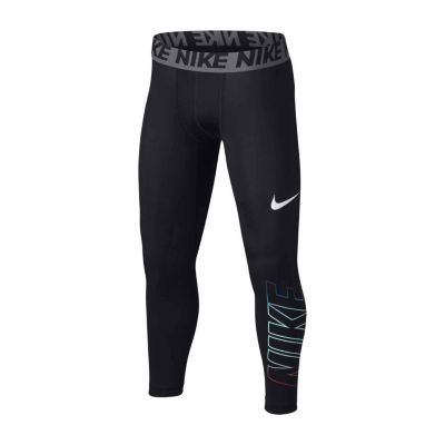 Nike® Base Layer 3QT Tights - Boys 8-20