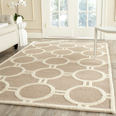 Safavieh Burke Geometric Hand-Tufted Wool Rug