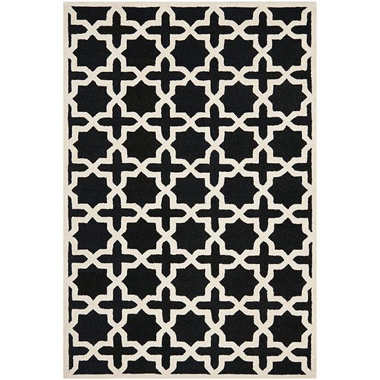 Safavieh Trevelyan Geometric Hand Tufted Wool Rug