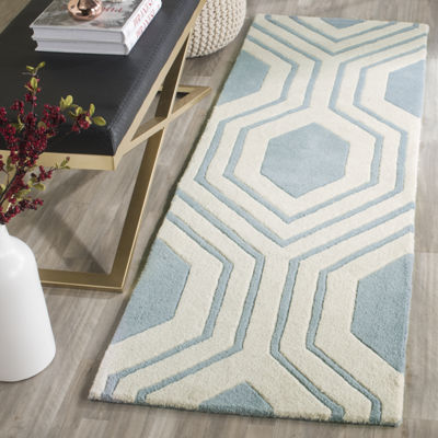 Safavieh Erin Geometric Hand Tufted Wool Rug