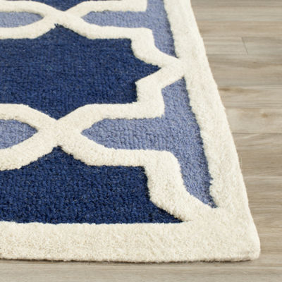 Safavieh Ethan Geometric Hand Tufted Wool Rug