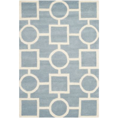 Safavieh Louella Geometric Hand Tufted Wool Rug