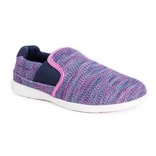 Muk Luks Womens Midge Slip-On Shoe Round Toe