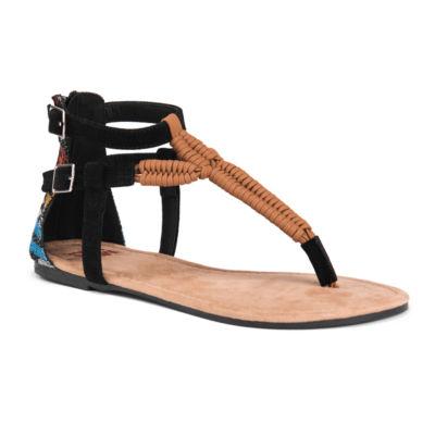 Muk Luks Celeste Womens Flat Sandals