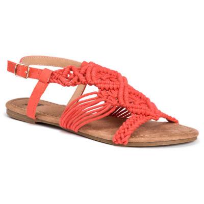 Muk Luks Elise Womens Flat Sandals