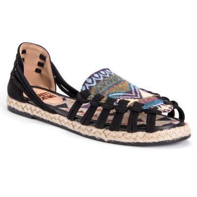 Muk Luks Alice Womens Flat Sandals