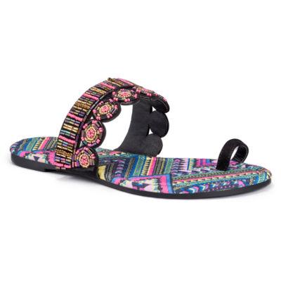 Muk Luks Farrah Womens Flat Sandals