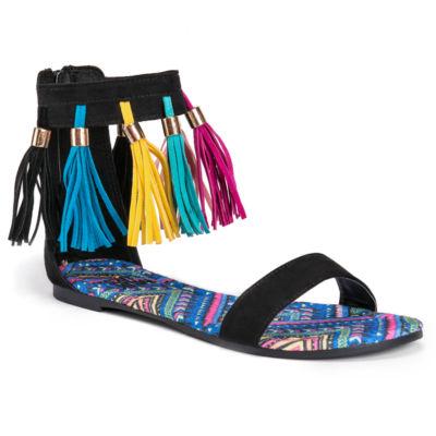 Muk Luks Jorgia Womens Flat Sandals