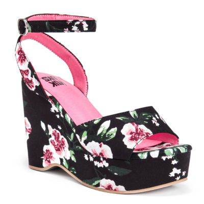 Muk Luks Elodie Womens Wedge Sandals