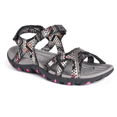 Muk Luks Ophelia Womens Flat Sandals