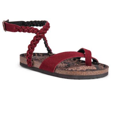 Muk Luks® Estelle Ankle Strap Sandals