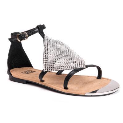 Muk Luks Linzie Womens Flat Sandals