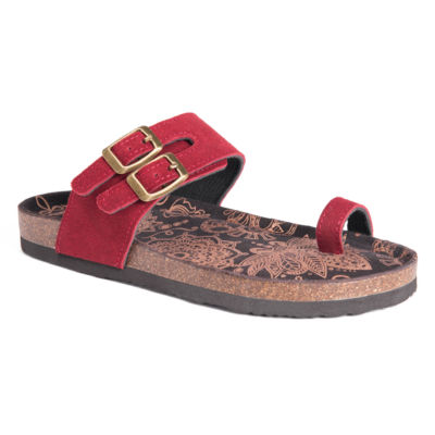 Muk Luks Daisy Womens Flat Sandals