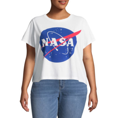NASA Cropped Tee - Juniors Plus
