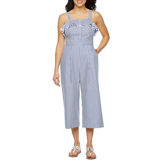 382e4b5748e8 Vivi By Violet Weekend Sleeveless Jumpsuit JCPenney