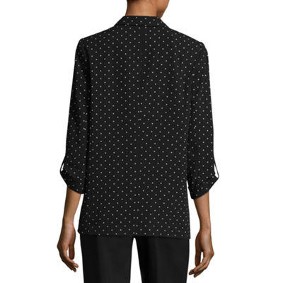 Worthington Tabbed Sleeve Jacket - Tall