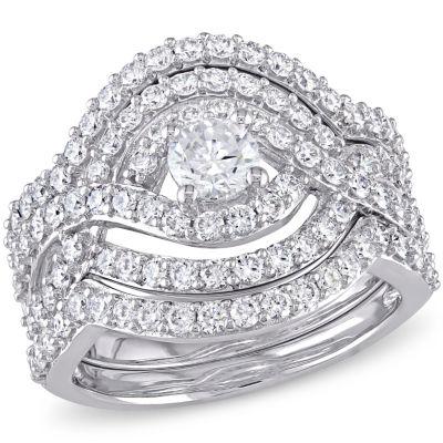 Womens 1 7/8 Ct. T.W. White Diamond 14K Gold Bridal Set
