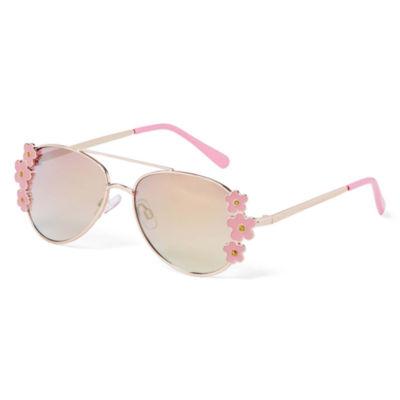Arizona Full Frame Round Sunglasses-Girls