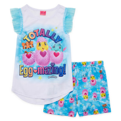 Hatchimals 2-pc. Shorts Pajama Set Girls